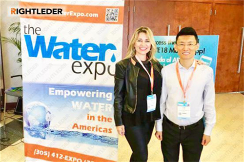 Rightleder ·Environmental at the 7th Miami International Water Expo