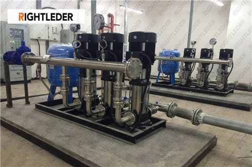 Rightleder Hospital centralized Water Supply System Step into the 4G era