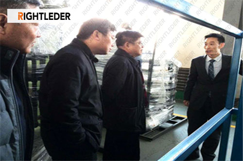 Rightleder Unite Shenyang University of Technology Set Up High Concentration Organic Wastewater Project By the Leaders Attention